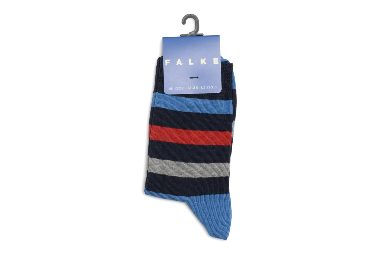 Chaussettes et collants Falke Chaussettes NEW STRIPE Bleu vue droite