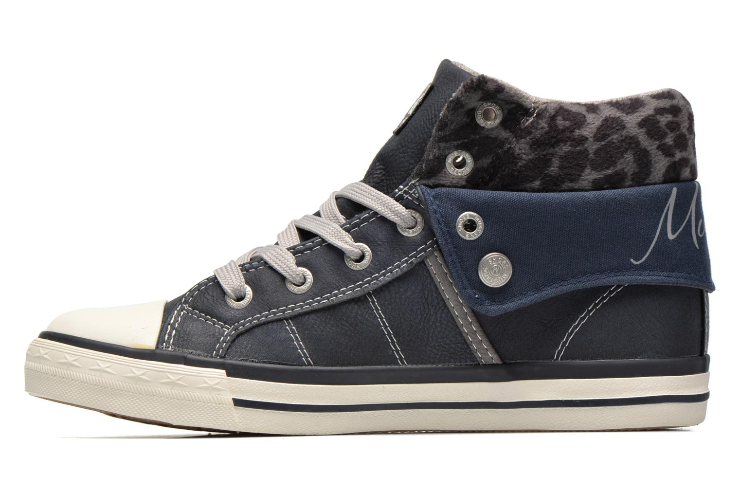 Sneakers Mustang shoes Elena Azzurro immagine frontale
