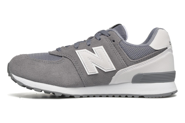 Sneakers New Balance KL574 J Grijs voorkant