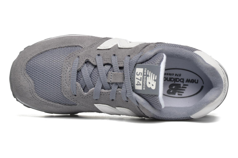 Sneakers New Balance KL574 J Grigio immagine sinistra