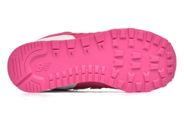 Sneakers New Balance KL574 J Rosa immagine dall'alto