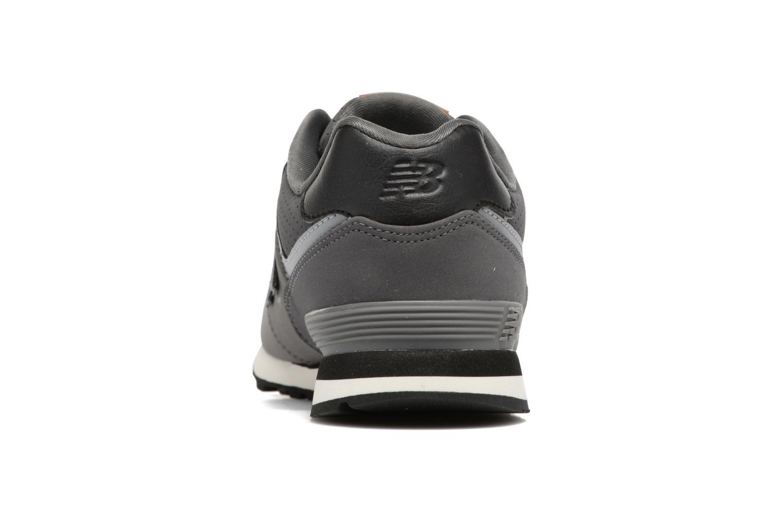 Sneaker New Balance KL574 J grau ansicht von rechts
