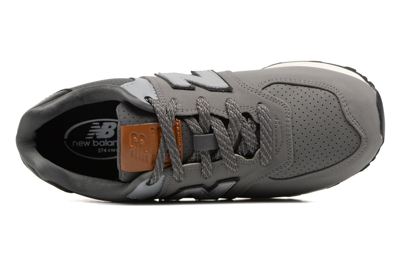 Sneaker New Balance KL574 J grau ansicht von links
