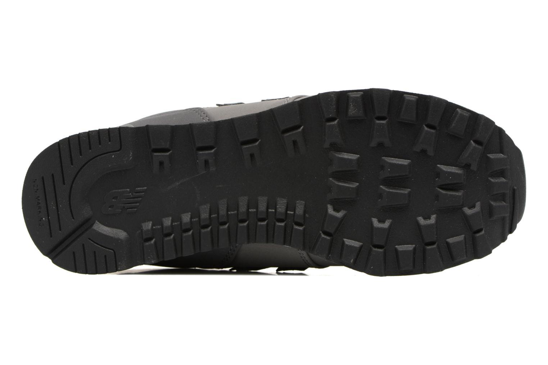 Sneaker New Balance KL574 J grau ansicht von oben