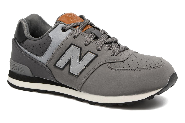 Sneaker New Balance KL574 J grau detaillierte ansicht/modell