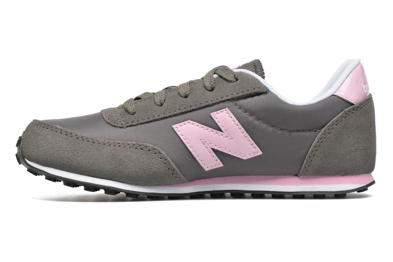 Sneaker New Balance KL410 J grau ansicht von vorne