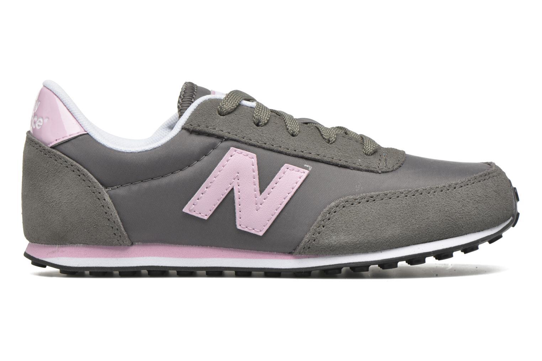 Sneaker New Balance KL410 J grau ansicht von hinten