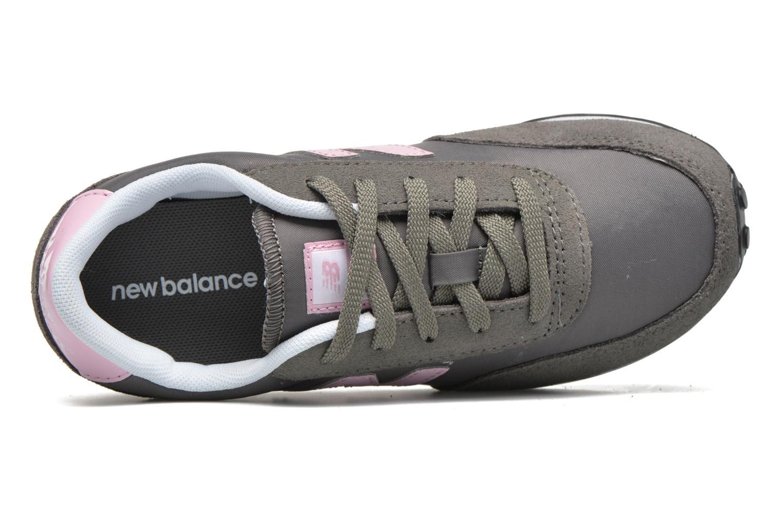 Sneaker New Balance KL410 J grau ansicht von links
