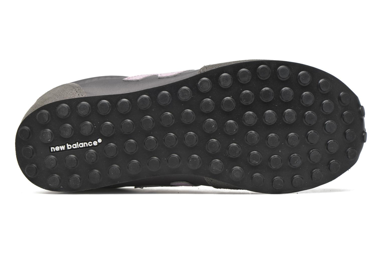 Sneaker New Balance KL410 J grau ansicht von oben