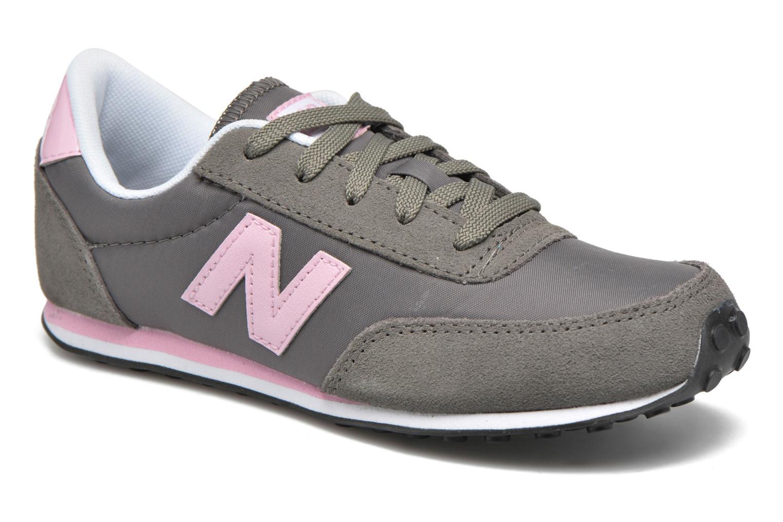 Sneakers New Balance KL410 J Grå detaljerad bild på paret