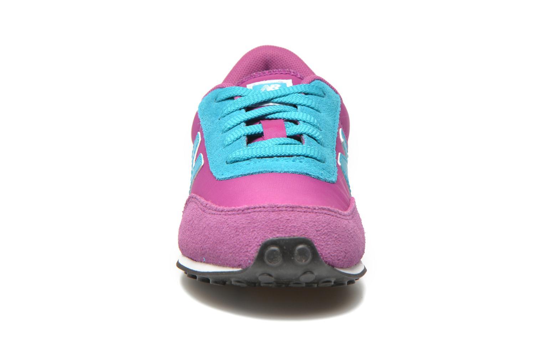 Sneaker New Balance KL410 J lila schuhe getragen