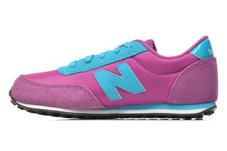 Sneaker New Balance KL410 J lila ansicht von vorne