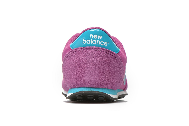 Sneaker New Balance KL410 J lila ansicht von rechts