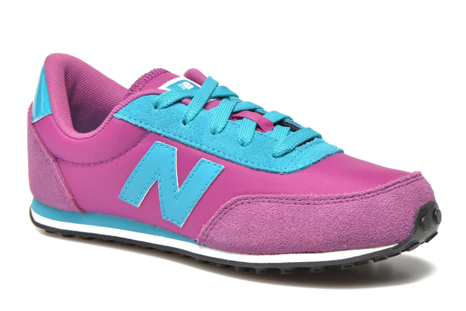 Trainers New Balance KL410 J Purple detailed view/ Pair view