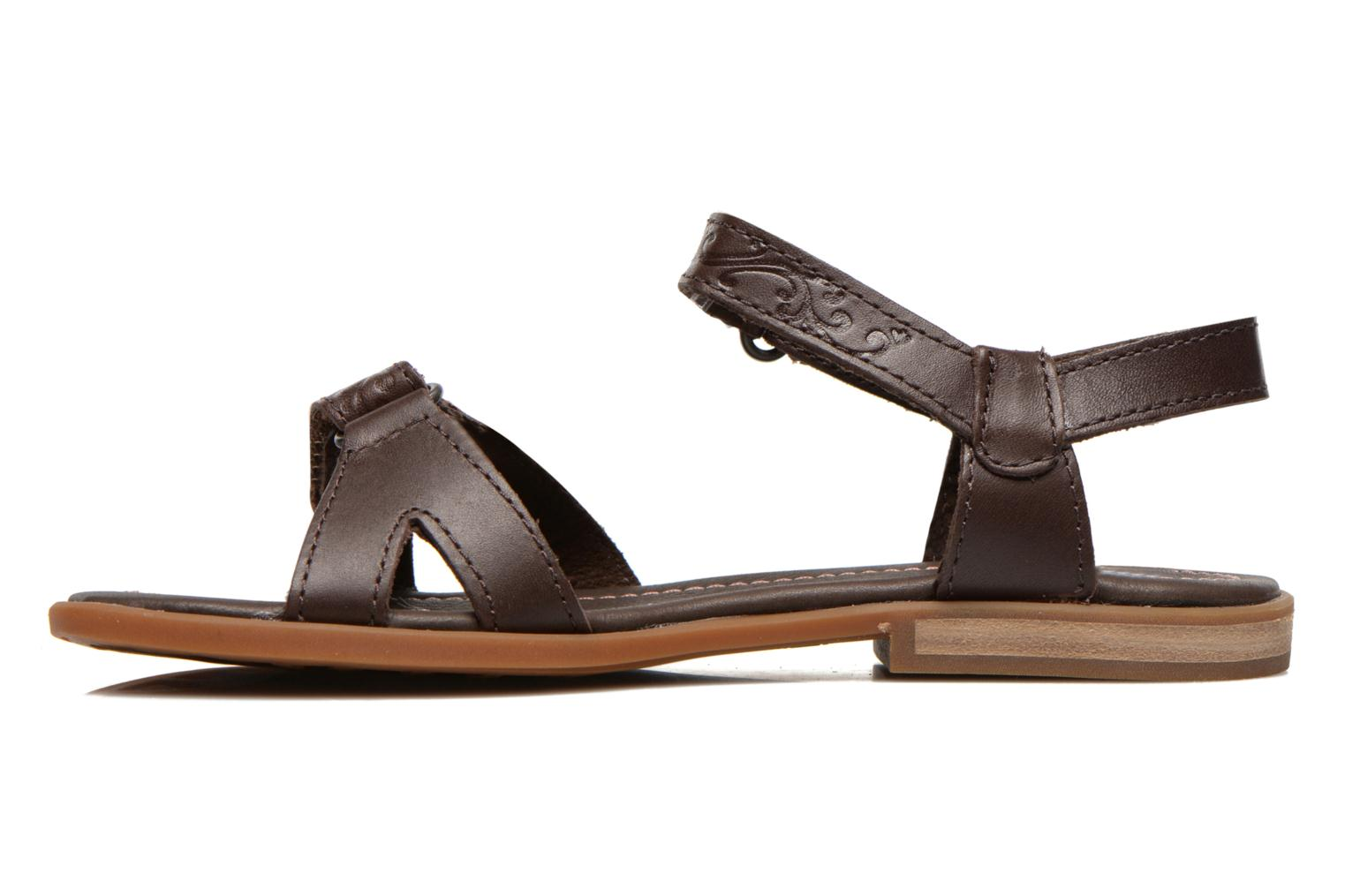 Sandales et nu-pieds Timberland Earthkeepers Willowbrook Crossband Sandal Marron vue face