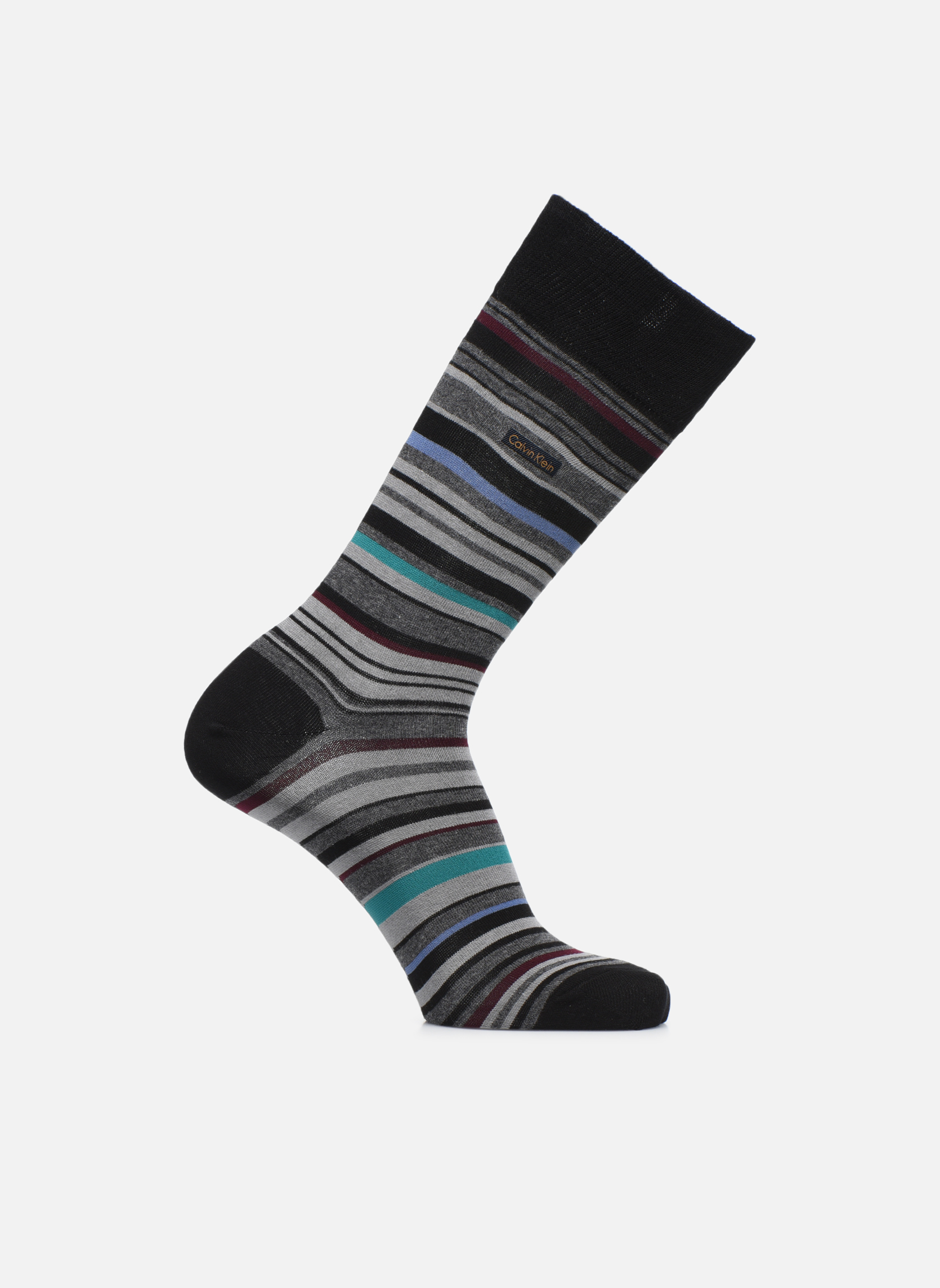 Chaussettes STRIPES 00 BLACK