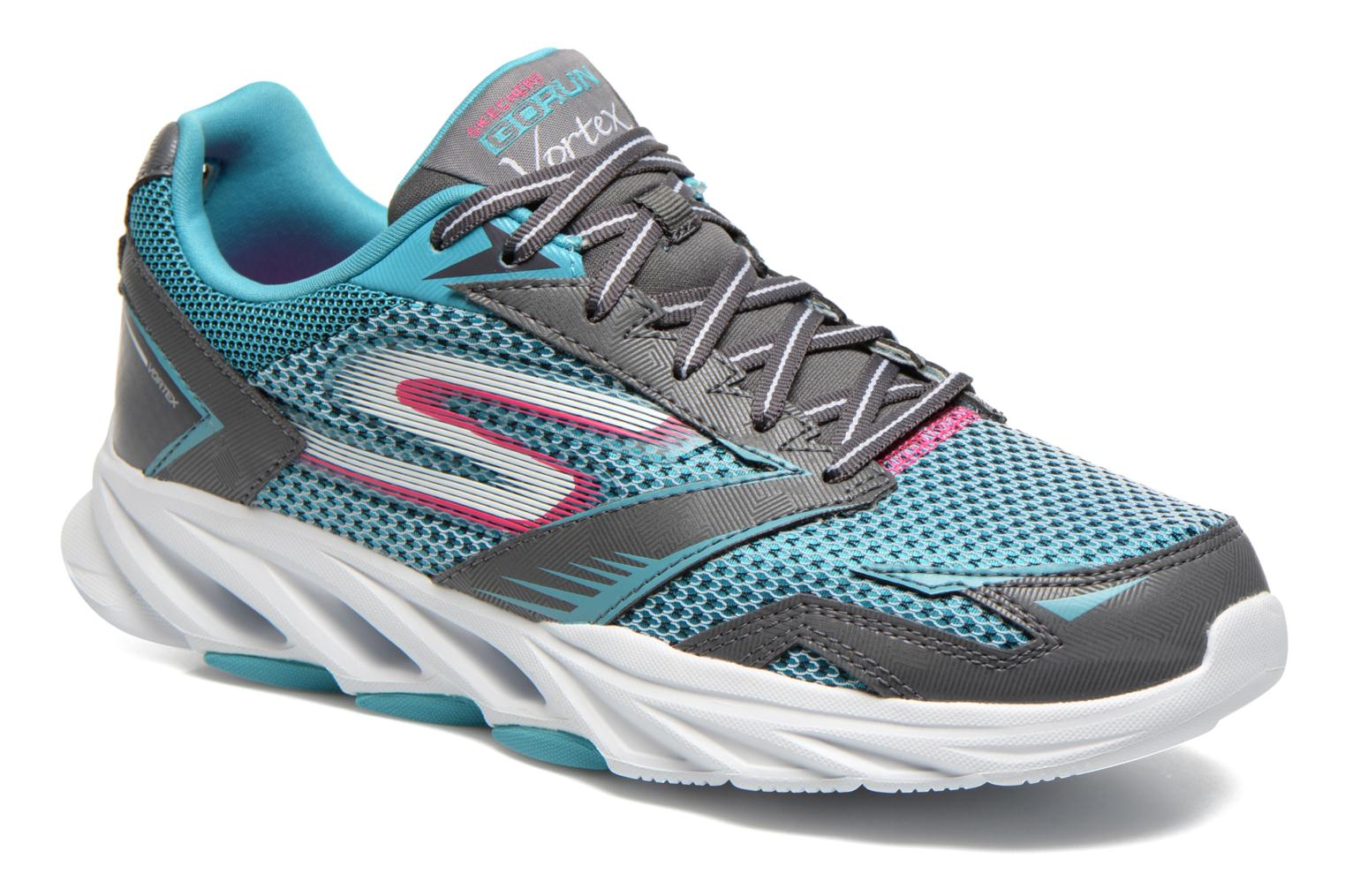 Skechers GO Run Vortex 14080 Sport Shoes Color Blue  Women