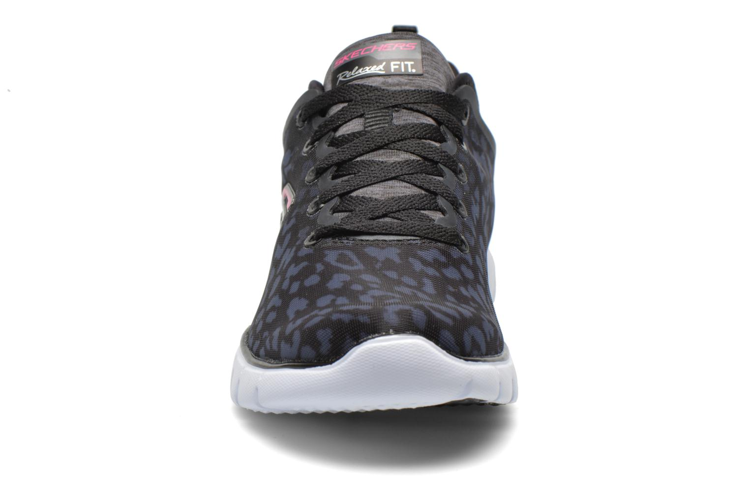 Zapatillas de deporte Skechers Skech-Flex Power Player 12131 Negro vista del modelo