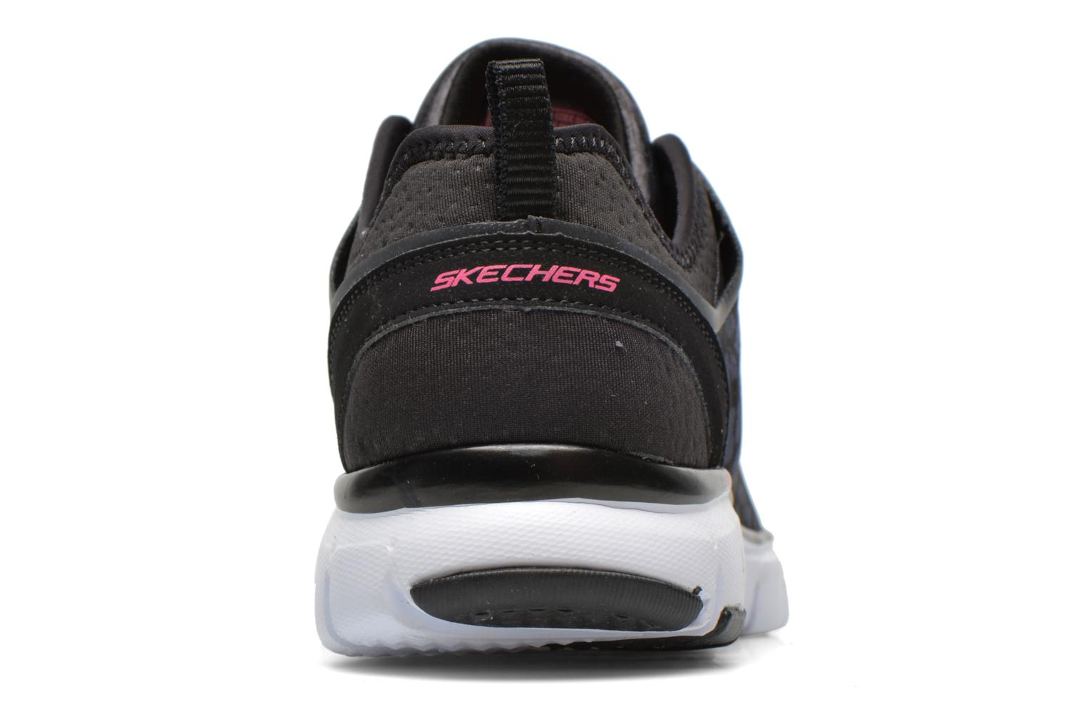 Zapatillas de deporte Skechers Skech-Flex Power Player 12131 Negro vista lateral derecha