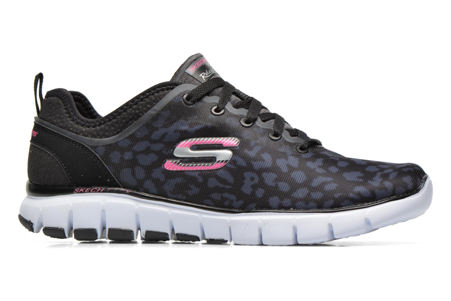 Zapatillas de deporte Skechers Skech-Flex Power Player 12131 Negro vistra trasera