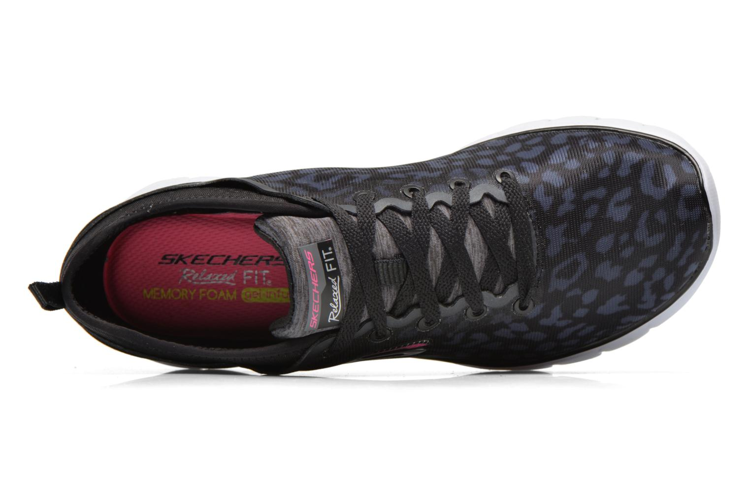 Zapatillas de deporte Skechers Skech-Flex Power Player 12131 Negro vista lateral izquierda