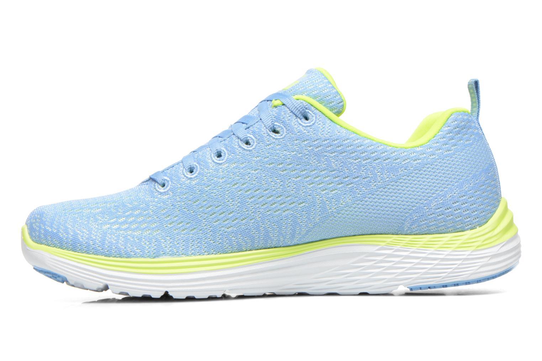 Chaussures de sport Skechers Valeris 12135 Bleu vue face