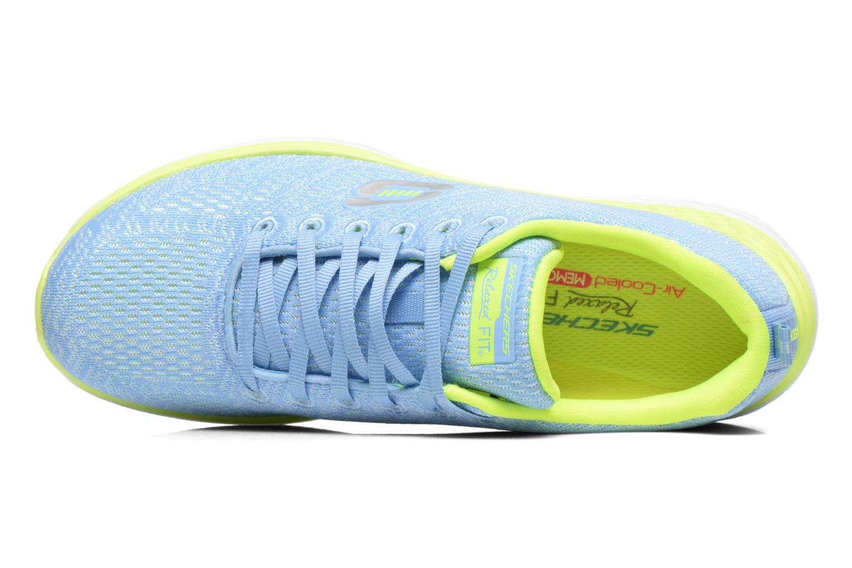 Chaussures de sport Skechers Valeris 12135 Bleu vue gauche
