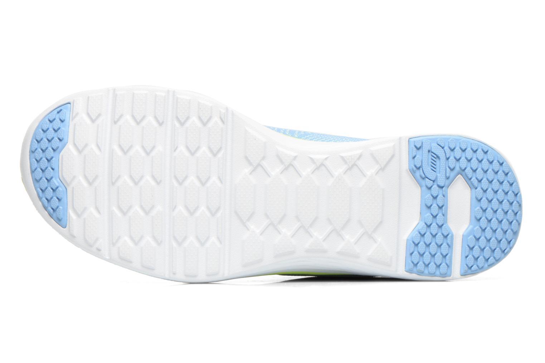 Chaussures de sport Skechers Valeris 12135 Bleu vue haut