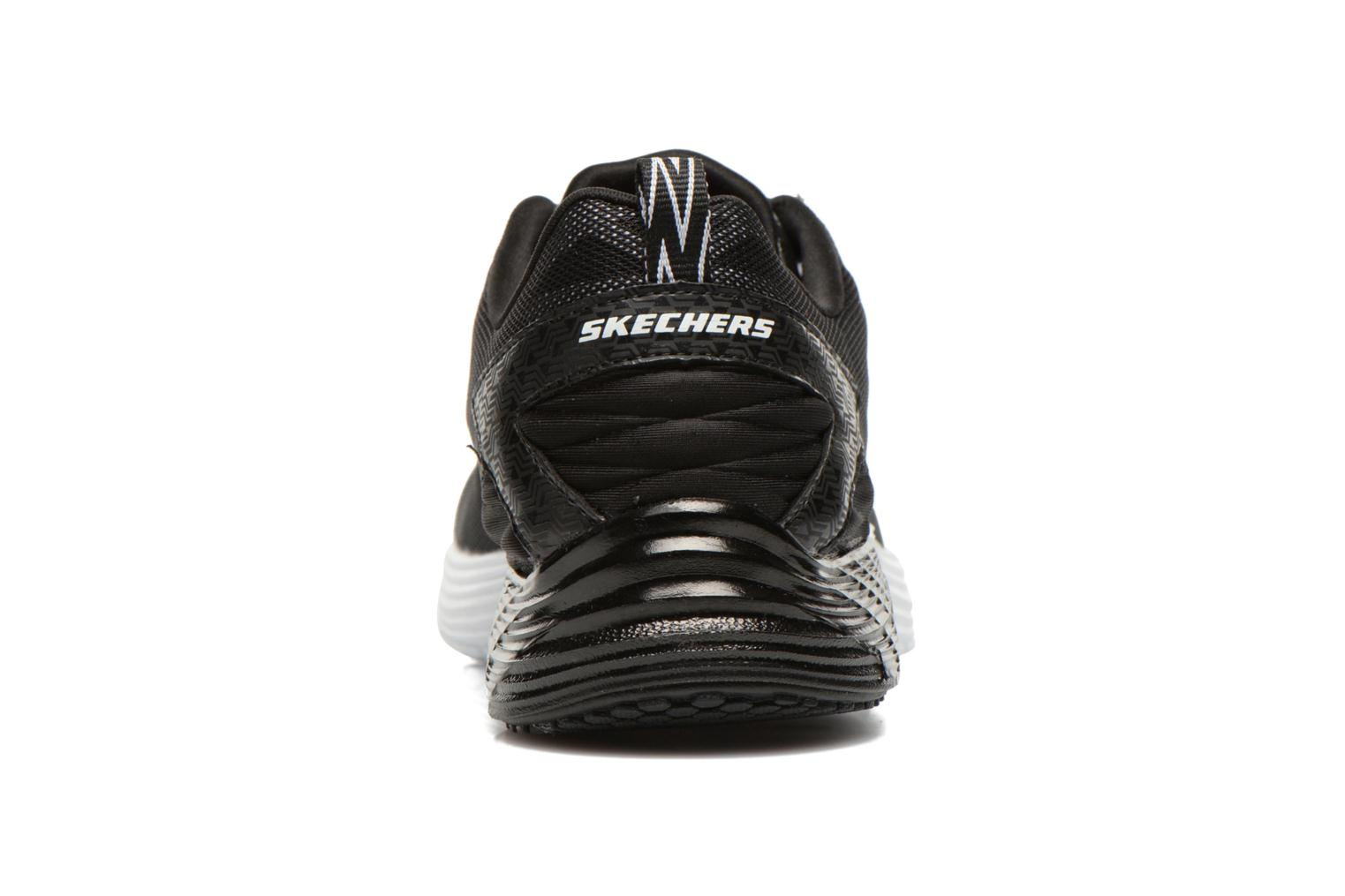 Sport shoes Skechers Valeris Front Page 122113 Black view from the right