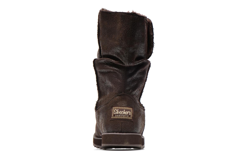 Boots en enkellaarsjes Skechers Keepsakes Leather-Esque 48367 Bruin rechts