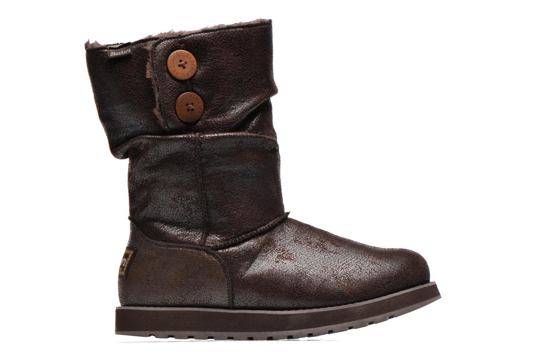 Boots en enkellaarsjes Skechers Keepsakes Leather-Esque 48367 Bruin achterkant