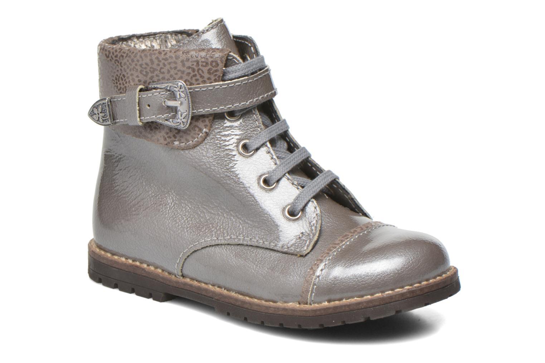 Boots en enkellaarsjes Little Mary Tresor Grijs detail