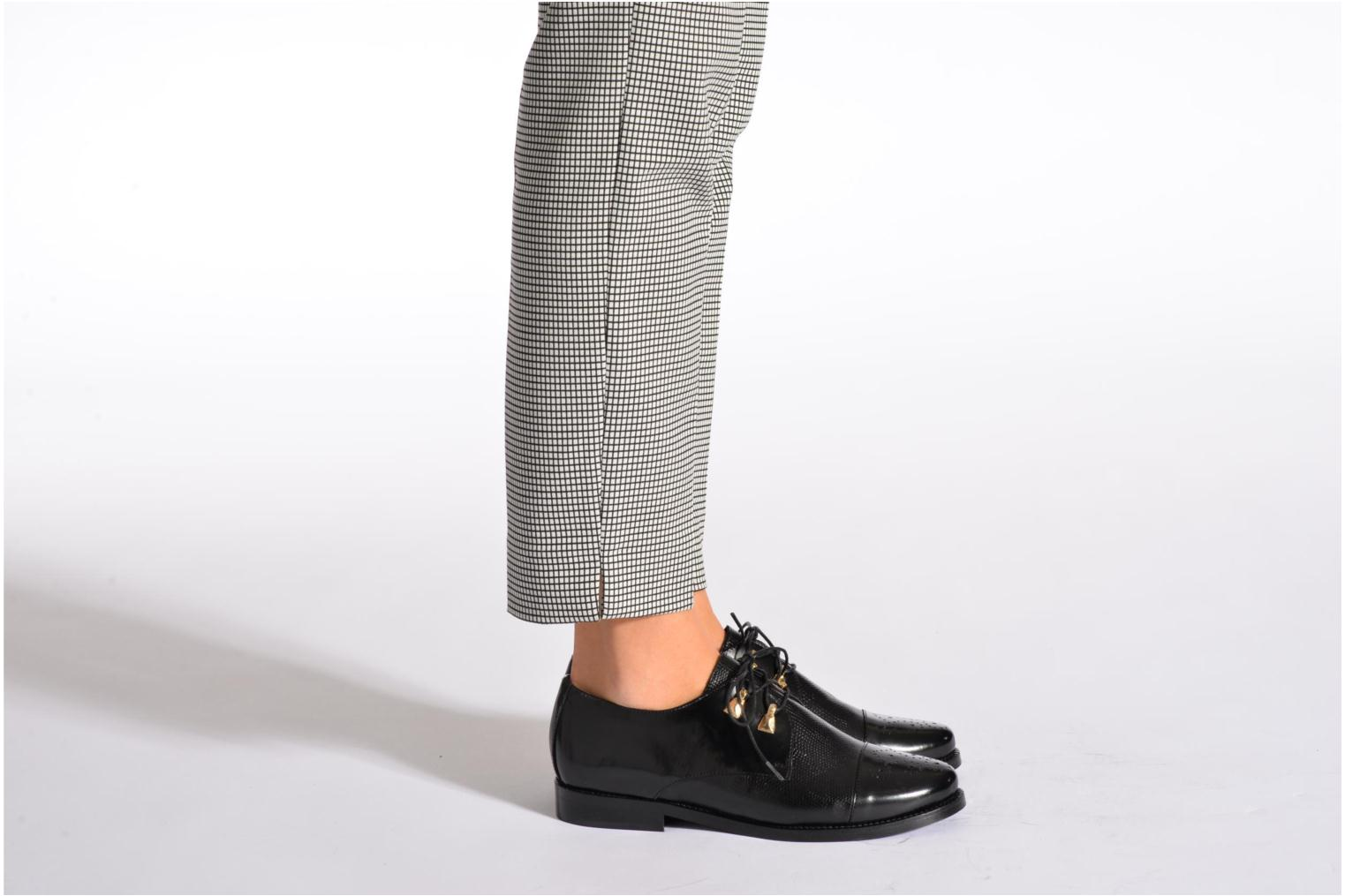 Lace-up shoes Jonak Darby Black view from underneath / model view