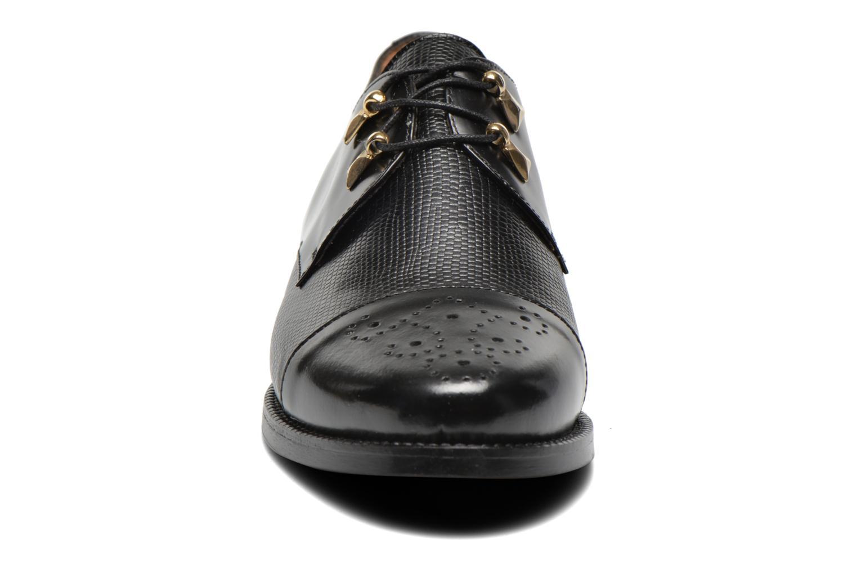 Chaussures à lacets Jonak Darby Noir vue portées chaussures