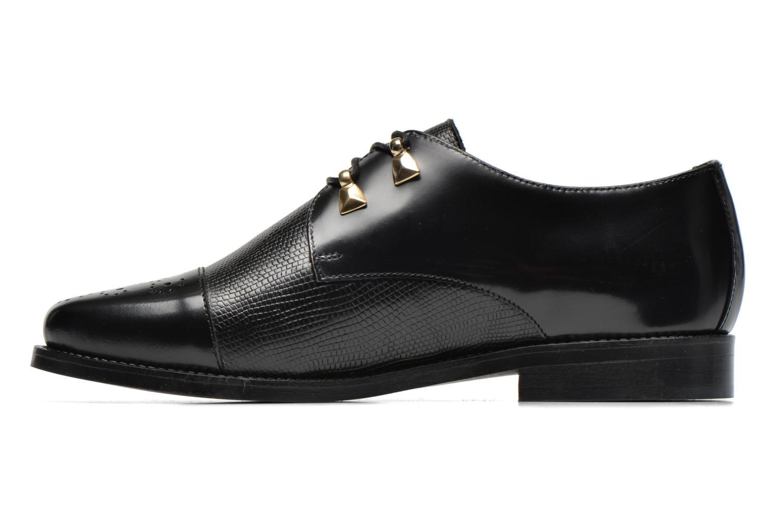 Lace-up shoes Jonak Darby Black front view