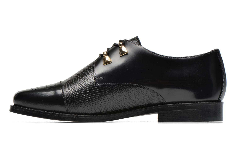 Chaussures à lacets Jonak Darby Noir vue face