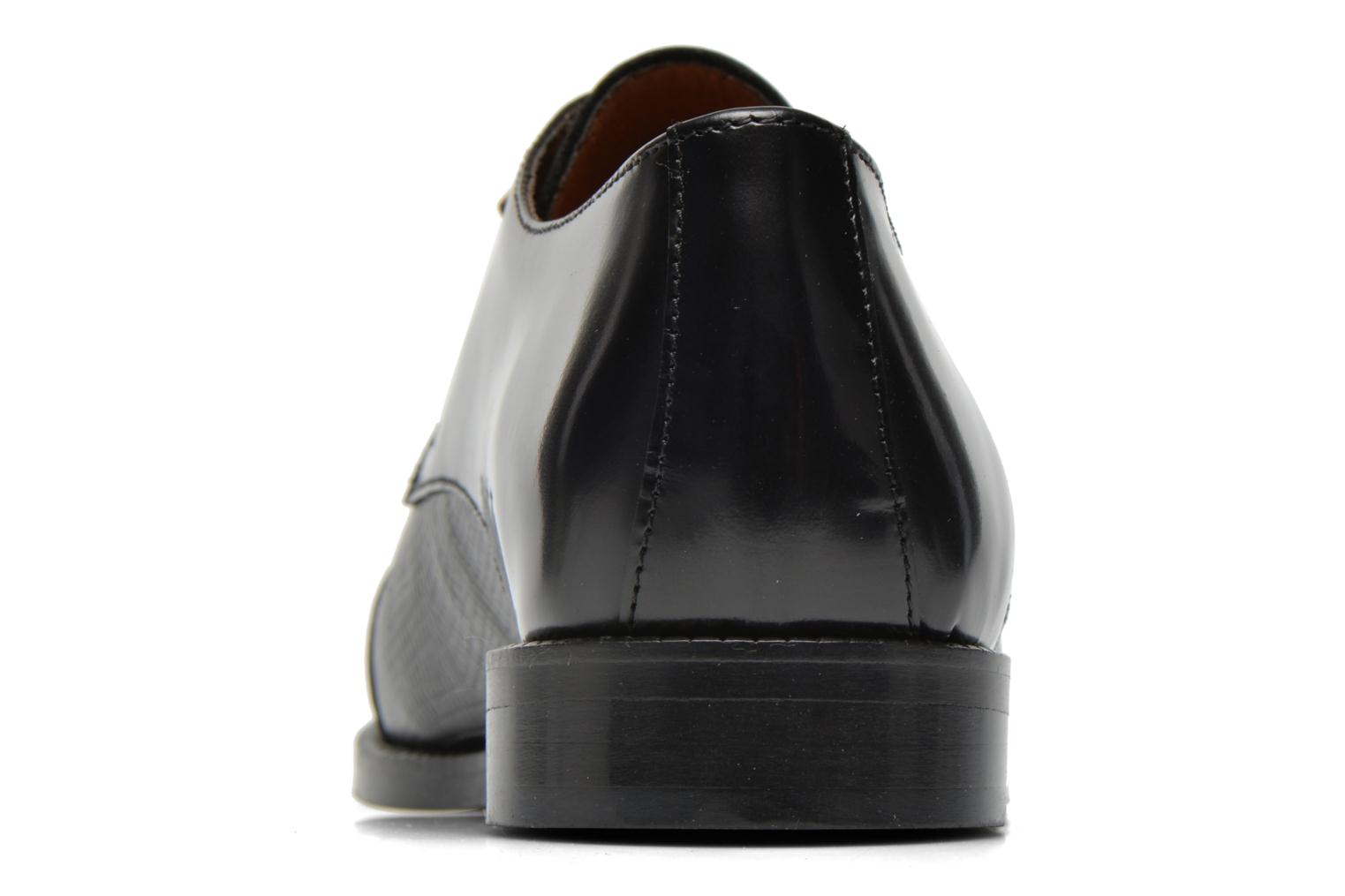 Lace-up shoes Jonak Darby Black view from the right