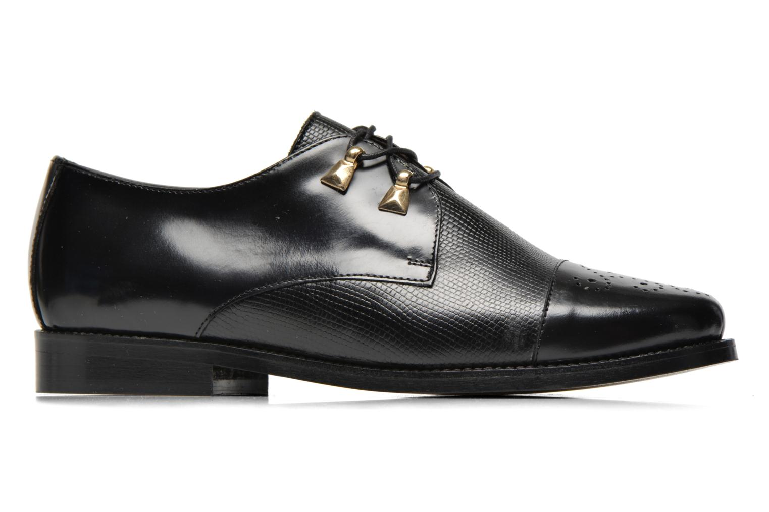 Lace-up shoes Jonak Darby Black back view