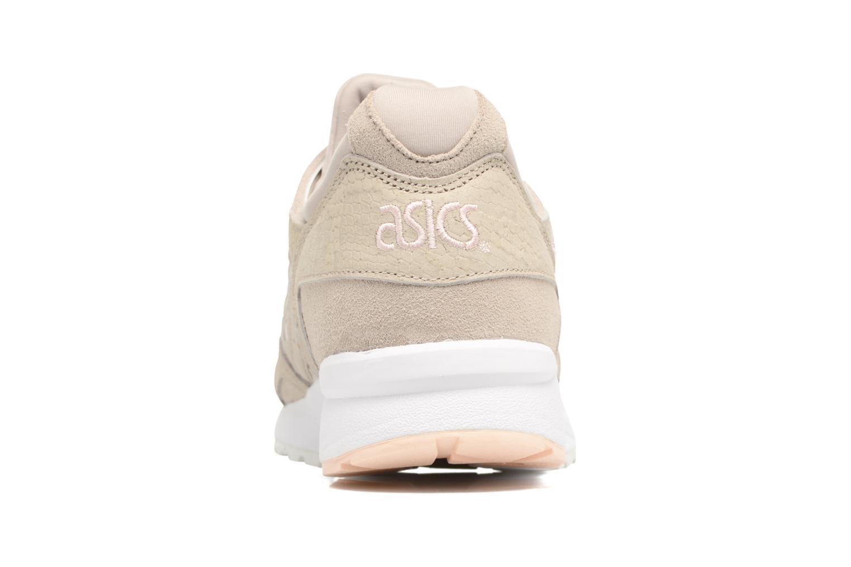 Sneaker Asics Gel-Lyte V W beige ansicht von rechts