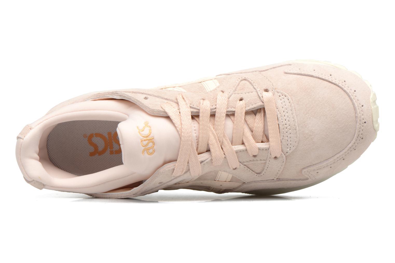 Sneaker Asics Gel-Lyte V W beige ansicht von links