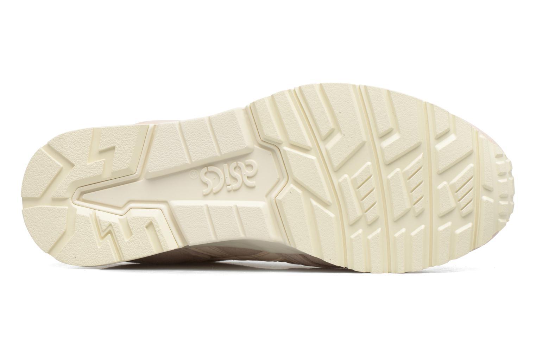 Sneaker Asics Gel-Lyte V W beige ansicht von oben