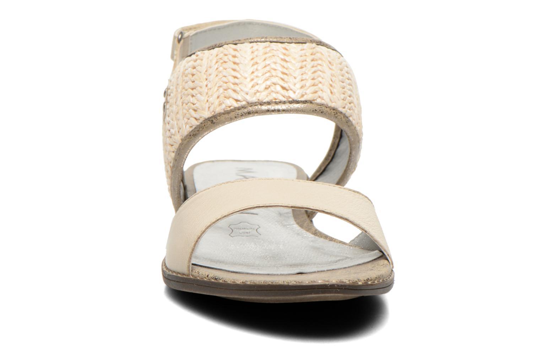 Sandales et nu-pieds Madison Rubane Blanc vue portées chaussures