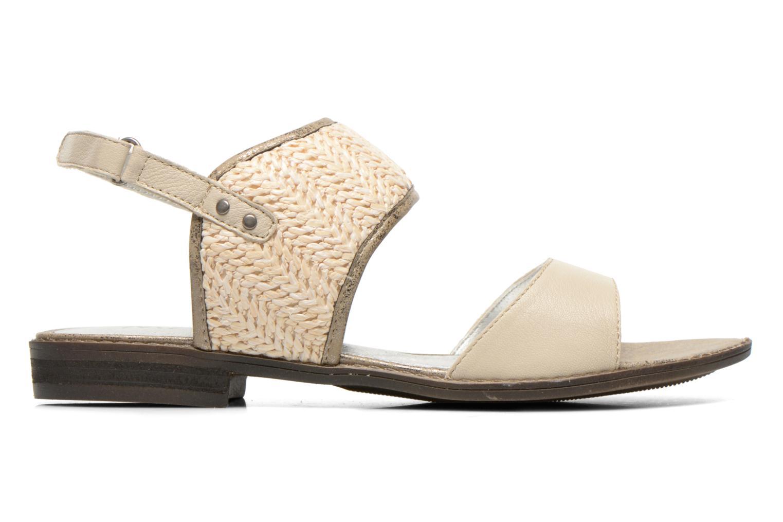 Sandales et nu-pieds Madison Rubane Blanc vue derrière