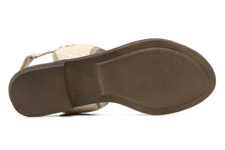Sandales et nu-pieds Madison Rubane Blanc vue haut