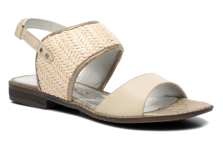 Sandales et nu-pieds Madison Rubane Blanc vue détail/paire