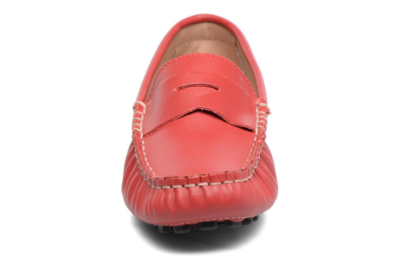 Mocassins Elizabeth Stuart Diana 830 Rouge vue portées chaussures