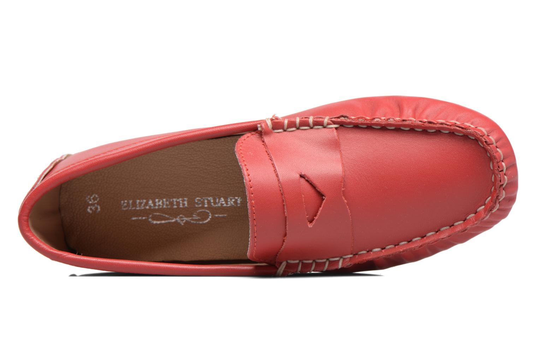 Mocassins Elizabeth Stuart Diana 830 Rouge vue gauche