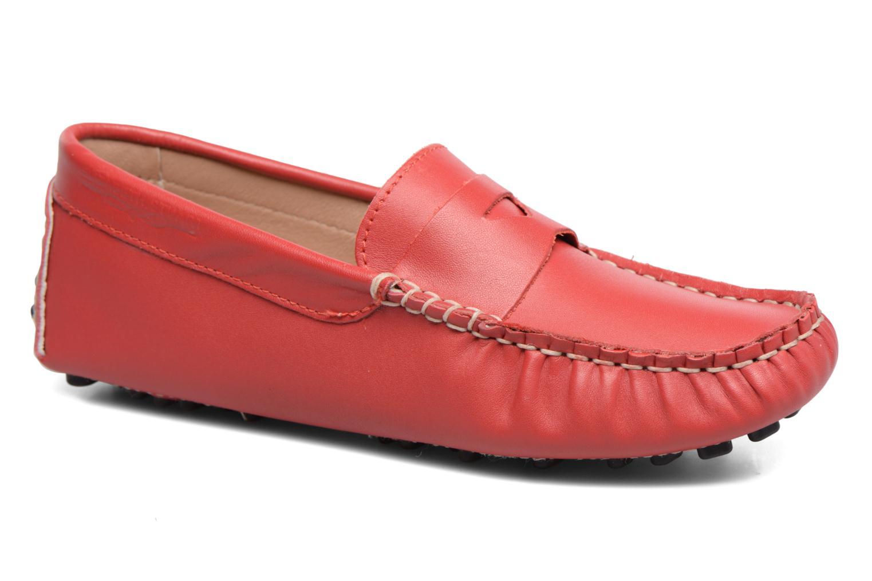Mocassins Elizabeth Stuart Diana 830 Rouge vue détail/paire