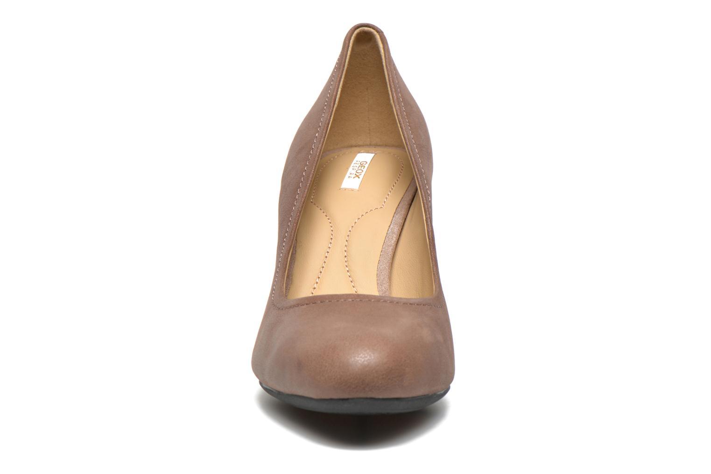 Zapatos de tacón Geox D Donyale D Marrón vista del modelo