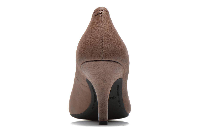 Zapatos de tacón Geox D Donyale D Marrón vista lateral derecha